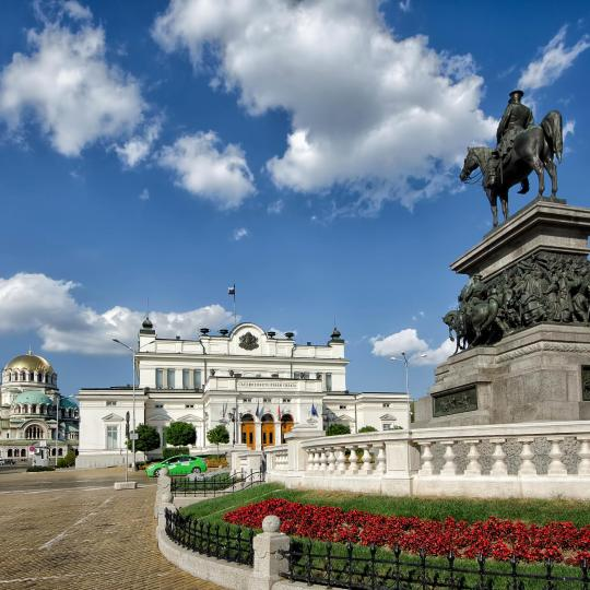 A sightseeing tour of Sofia