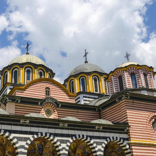 Explore beautiful Rila Monastery