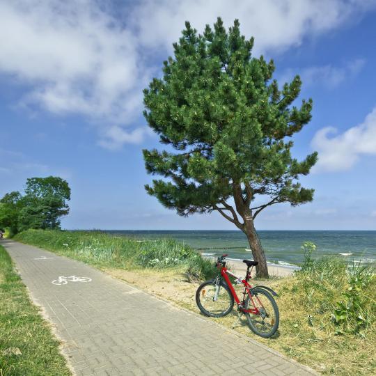 Coastal cycling on the Hel Peninsula