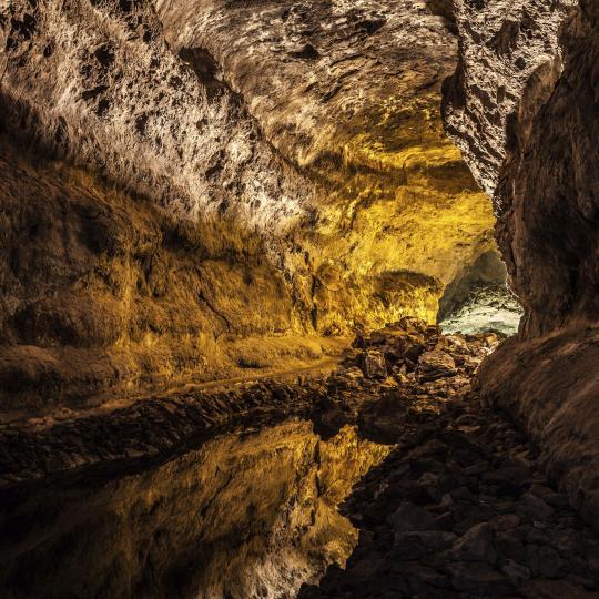Cuevas volcánicas de São Vicente