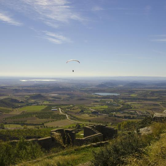 Paragliding in Huesca