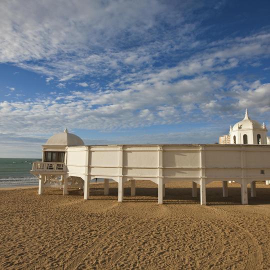 Пляж Ла-Калета в Кадисе