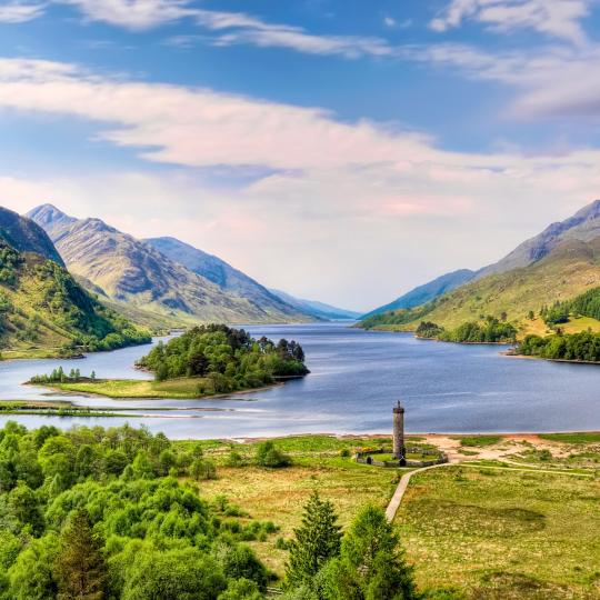Serenity in the beautiful Highlands