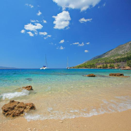 Brač's unspoilt beaches