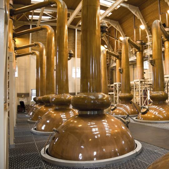 The Highlands' whisky distilleries
