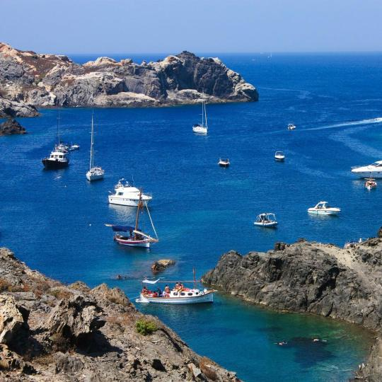 Water sports on the Costa Brava