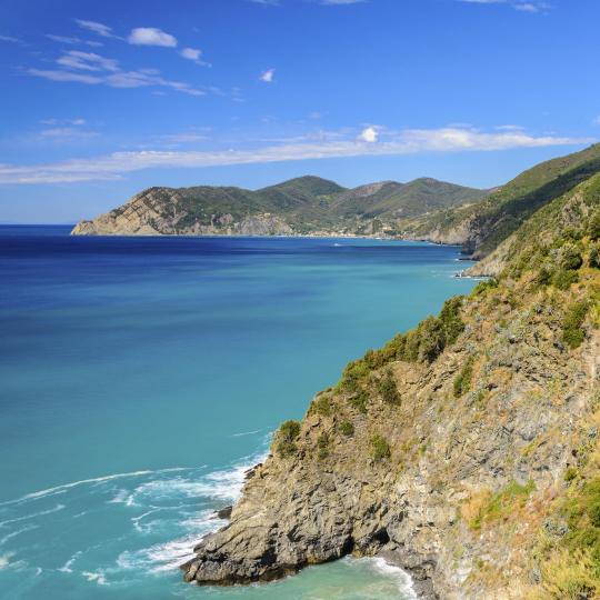 Hiking in the vineyards of Cinque Terre National Park