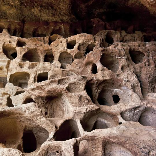 Yacimiento arqueológico de la Cueva Pintada