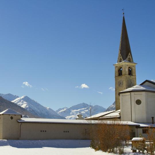 Livigno's historic churches