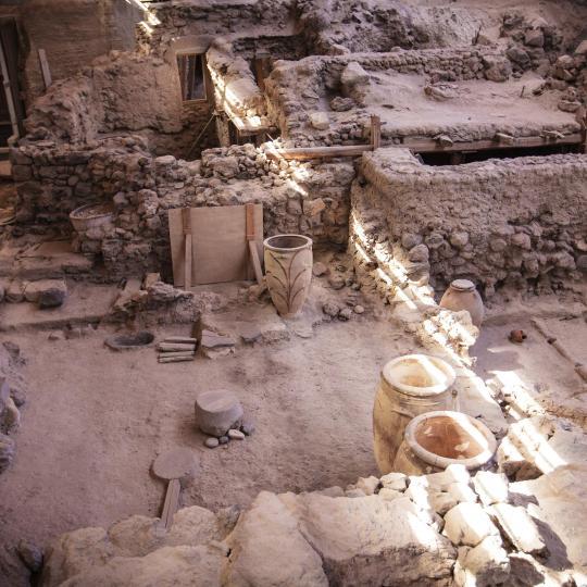 Akrotiri Archaeological Site