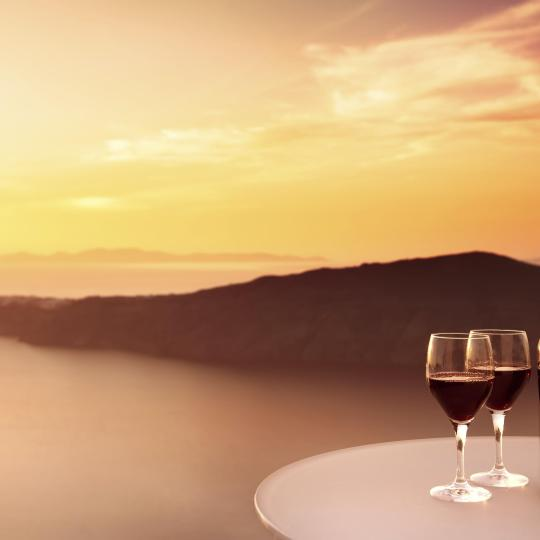 Wine tasting in Pyrgos
