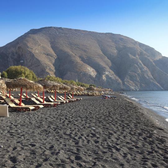 Playas de Perissa y Perivolos