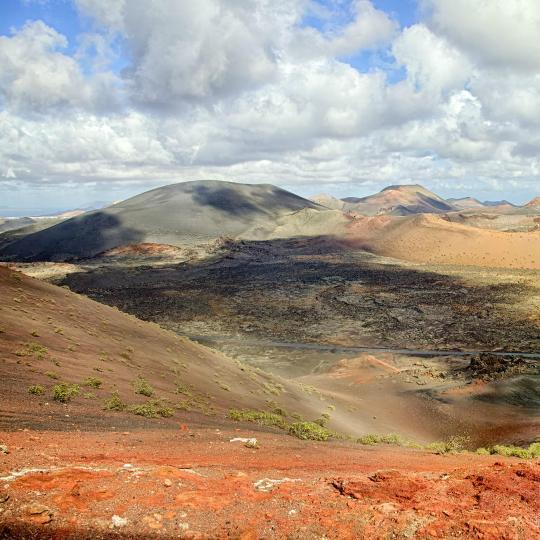 Montañas de Fuego, a tűzhegyek