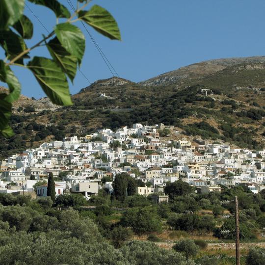 The village of Apiranthos
