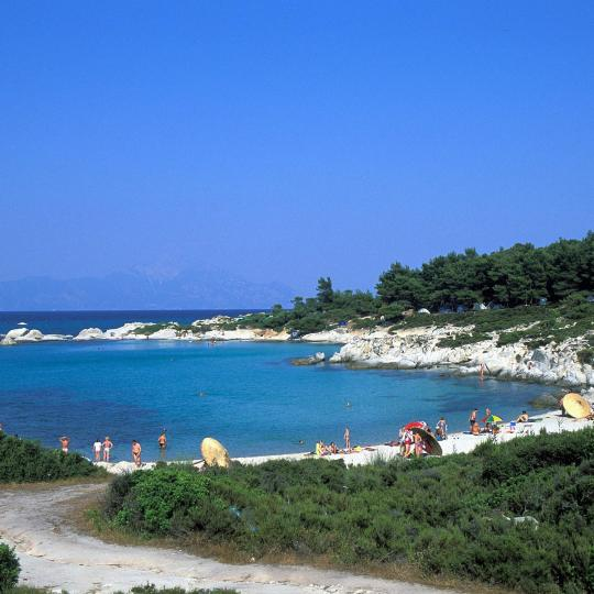 Kavourotrypes Beach
