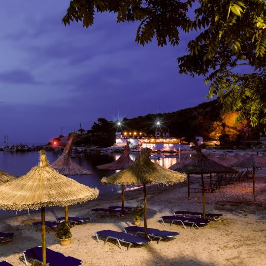 Halkidiki's beach bars