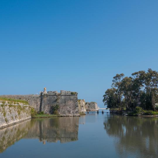 Agia Mavra Castle