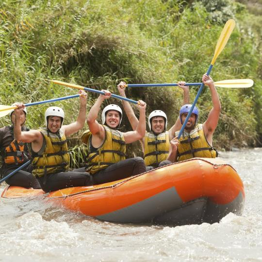 White water rafting and kayak courses on Abruzzo's rivers
