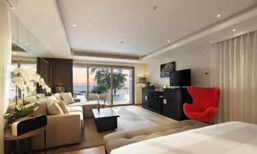 All serviced apartments