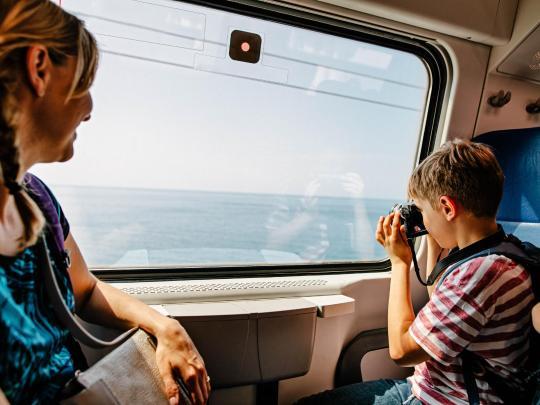 8 treni panoramici per riscoprire l'Italia