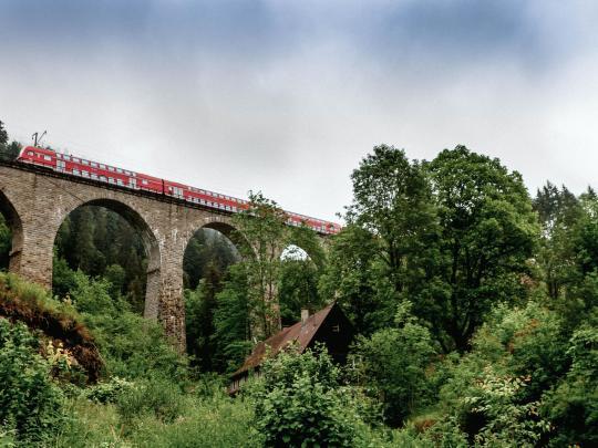 Die schönsten Zugstrecken: Deutschland