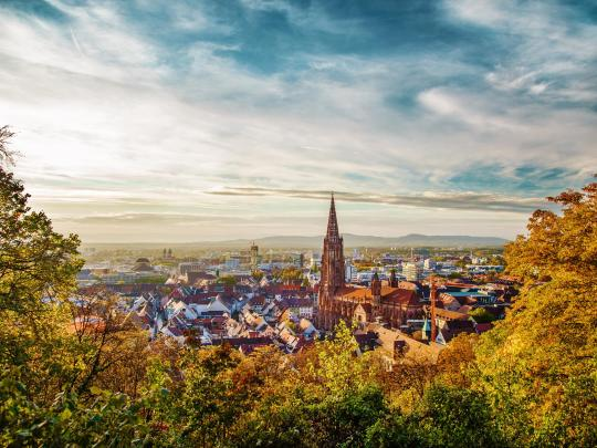 Frolic around Freiburg, Germany