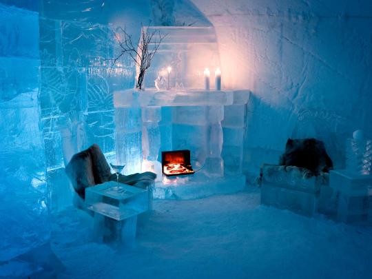 The world's coolest ice hotels