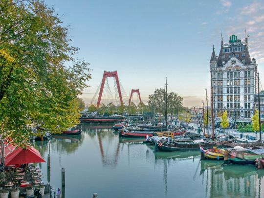 Rotterdam: a city rebuilt from rubble