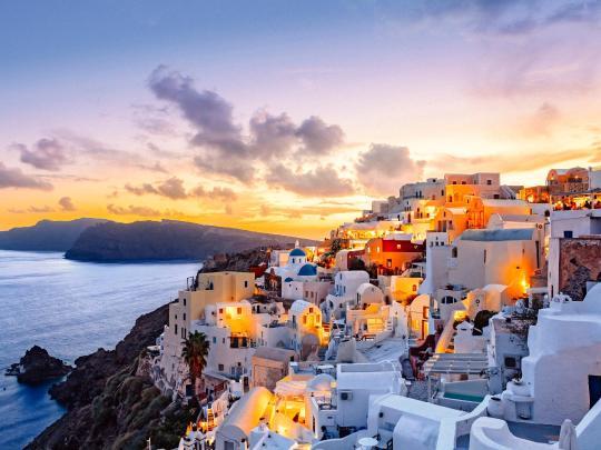 Kohdeinspiraatiota: Santorini, Kreikka