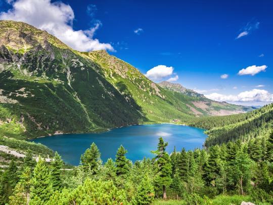 5 najlepszych miejsc na górską wędrówkę
