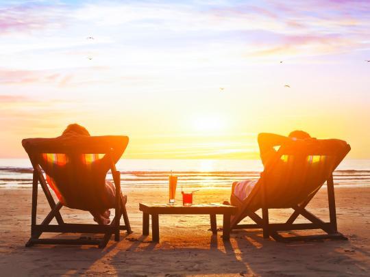 Пляжная романтика для влюбленных
