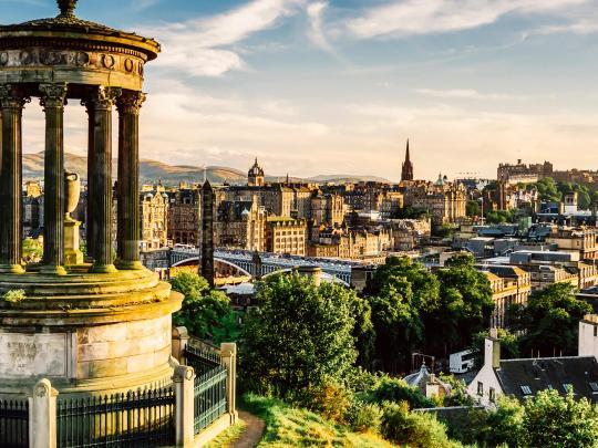 Åk på en magisk resa till Edinburgh