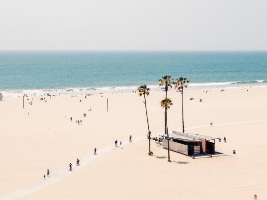 ビーチのある人気都市