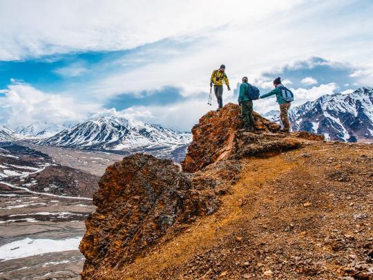 Jalur-jalur pendakian gunung impian