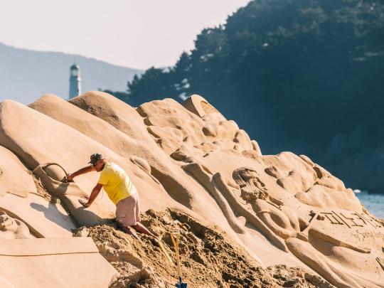 Esculturas em areia – o melhor do Verão