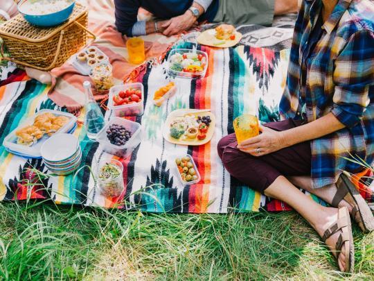 Лучшие места для пикника в городе