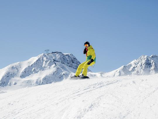 Världens bästa resmål för snowboardåkning