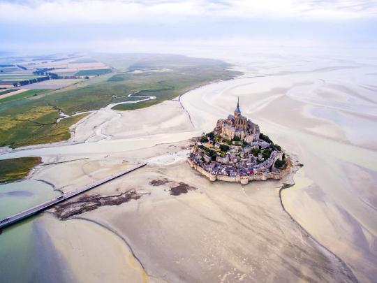 Ilhas acessíveis a pé na maré baixa