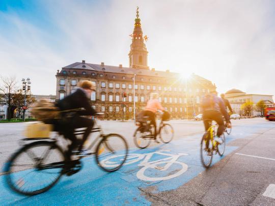 サイクリストのためのシティガイド