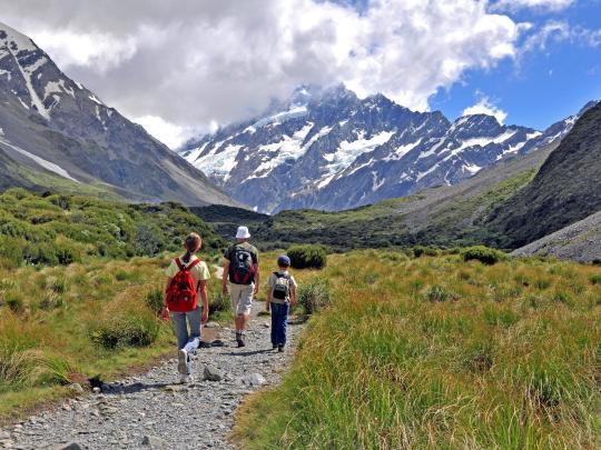 5 destinos de viaje para familias activas
