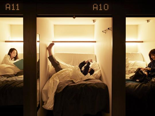 10 design capsulehotels en -hostels