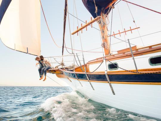 De 5 bästa resmålen för segling