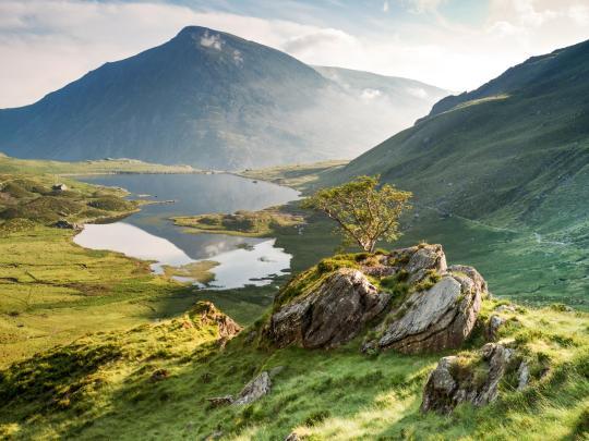 Die drei Nationalparks in Wales