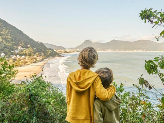 Férias e muita aventura em família no Brasil