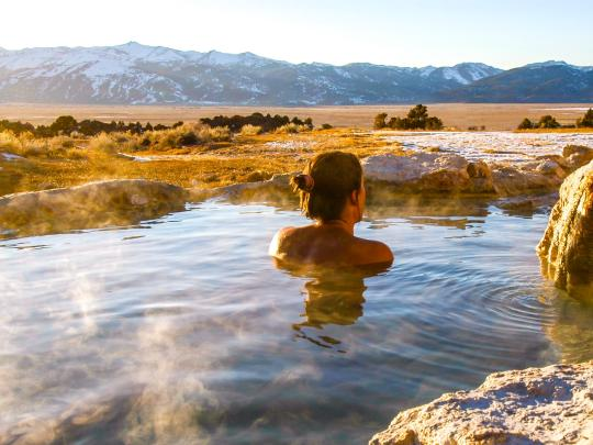 7 of the USA's most restoring hot springs