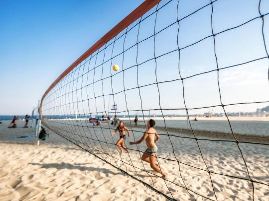 The best spots for beach volleyball in Brazil
