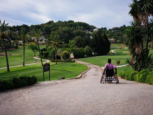 Abenteuerurlaub für Rollstuhlfahrer