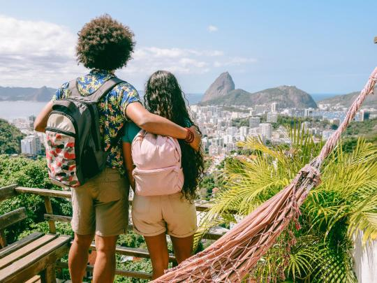 Spend a month backpacking around Brazil