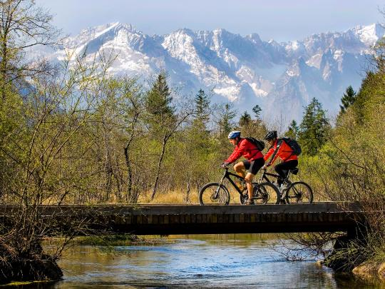 The 5 finest spots for mountain biking in Germany