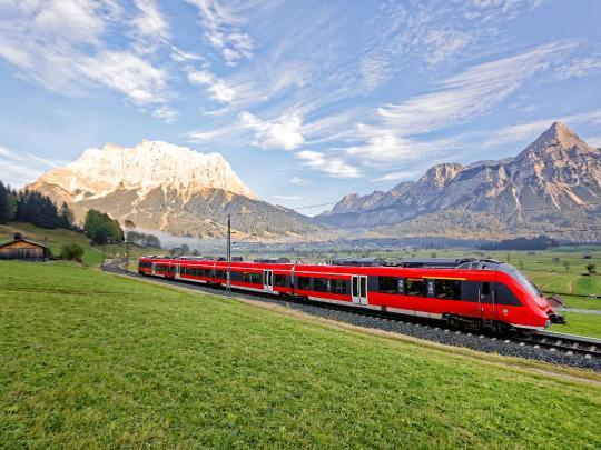 7 itinerari per scoprire l'Europa in treno